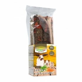 NATURELAND BRUNCH GRAINFREE STICKS ZANAHORIA