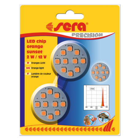 Sera LED chip orange sunset 2 W / 12 V